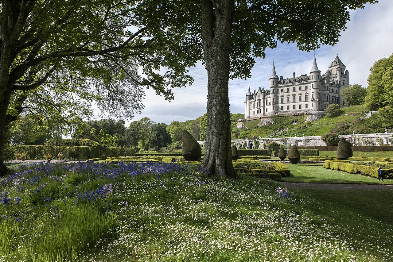knights of the island schottland.dunrobin castle©marc theis